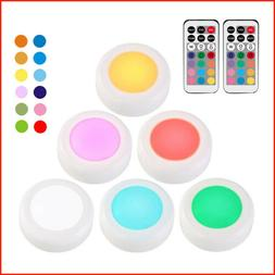 1/3/6* LED Night 13 Color Light Remote Control Emergency Lam