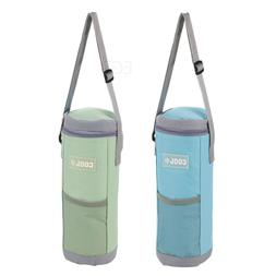 1.5L Bottle Insulated Cool Bag With Strap Drinks Wine Picnic