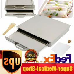 1-Layer Stainless Steel Steaming Food Kitchen Rice Roll Stea