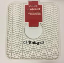 """1 or 2 Sink Protector Mat New Kitchen Accessories 12""""X11"""""""