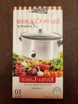 """Kitchen Collection 10 Clear Crock pot Slow Cooker Liners 13"""""""