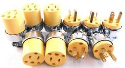 Extension Cord Replacement Ends  MALE  FEMALE Plug Electric