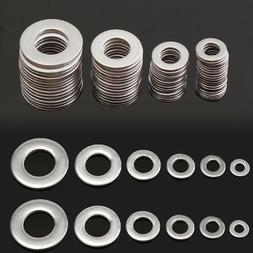 105pcs 304 stainless steel washers metric flat