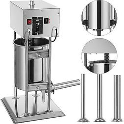 VEVOR 10L Electric Sausage Stuffer 2 Speed Stainless Steel M
