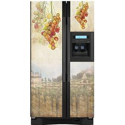 Appliance Art 11106_DISC Appliance Art Tuscan Grapes Refrige