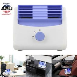 12/24V Portable Fan Car Air Conditioner Quiet Cooling Truck
