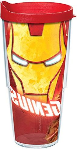 Tervis 1250044 Marvel - Iron Man Tumbler with Wrap and Red L