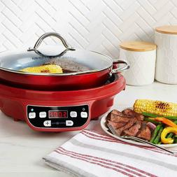 Electric Single Induction Cooker Portable Burner Cooktop Dig
