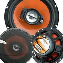 "2) Audiobank 6.5"" 600 Watt 3-Way Car Audio Stereo Coaxial Sp"
