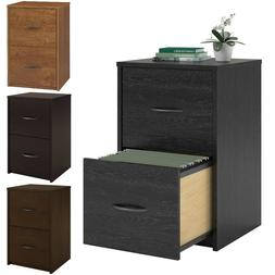 2 Drawer Filing Cabinet For Small Home Office Storage Organi