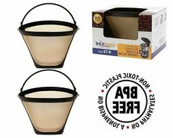 GoldTone Reusable #4 Cone Coffee Filters for Ninja Coffee M