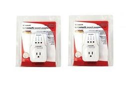2 LOT PACK APPLIANCE & A/C BROWNOUT VOLTAGE SURGE PROTECTOR