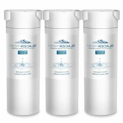 3 Pack GLACIER FRESH GF-XWF Refrigerator Water Filter Replac