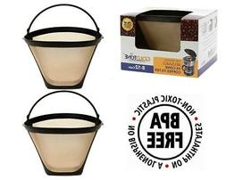 GoldTone Reusable #4 Cone Coffee Filters for Cuisinart Coff