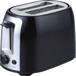 Brentwood 2 Slice Cool Touch Toaster: Black And Stainless St