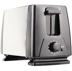 2 Slice Toaster Brentwood Appliances Black Cool Touch Extra