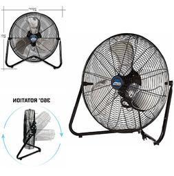 "20"" Heavy Duty Industrial High Velocity Electric Floor Fan A"