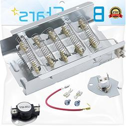 279838 & 279816 Dryer Heating Element With Dryer Thermostat