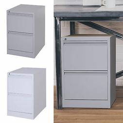 "28"" Steel Metal 2 Drawer Home Office Under Desk Filing Cab"