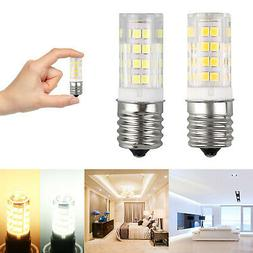 2Pcs Microwave LED Replacement Light Bulb for Appliance E17