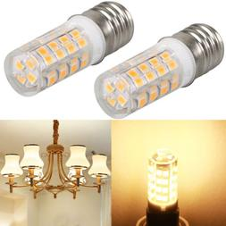 2Pcs Microwave LED Replacement Light Bulb fit Appliance E17