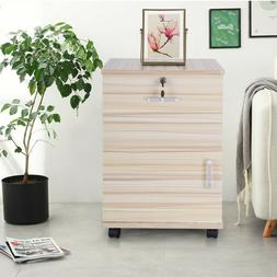 3 Drawer Filing Cabinet File Storage Organizer Home Office W