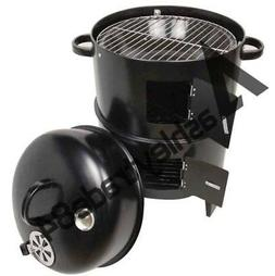 3-in-1 Steel Portable BBQ Grill Roaster Smoker Steamer Outdo