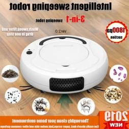 3 in1 Rechargeable Smart Robot Vacuum Cleaner Cleaning Autom