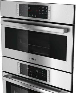 "Bosch 30"" SS 800 Series HBL87M52UC Microwave Combination Ove"