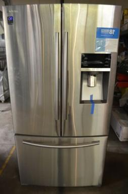 "Samsung 36"" Stainless Steel Twin Cooling French Door Refrige"