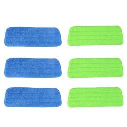 3pcs Water Spray Mop Sweeper Cloth Head Replacement Microfib