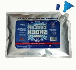 "Cooler Shock 3X Lg. Zero°F Cooler Freeze Packs 10""x14""-No M"
