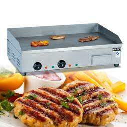 4.4KW Electric Countertop Griddle Flat Top Hotplate Grill BB
