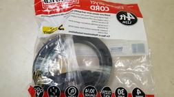 4 foot Certified Appliance 90-2020 4-wire Dryer Cord 30 Amps