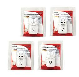 4 LOT PACK APPLIANCE & A/C BROWNOUT VOLTAGE SURGE PROTECTOR