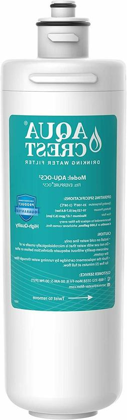 4 Pack Crystala Refrigerator Water Filter Replacement for GE