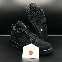 "AIR JORDAN 4 RETRO ""BLACK CAT"" 2020 RELEASE CU1110-010"
