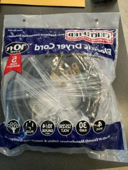 4-Wire Dryer Cord 10ft Electrical Replacement Power Cords Pr