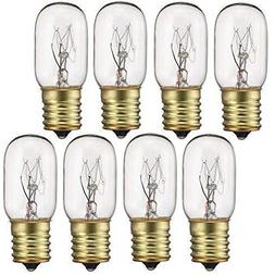 40 Watt Appliance Light Bulb, T8 Tubular Incandescen Light B