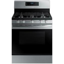 Samsung 5.8 cu. ft. Gas Range,Self-Cleaning Oven in Stainles