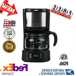 5-Cup Coffee Maker Automatic Programmable Coffeemaker Kitche