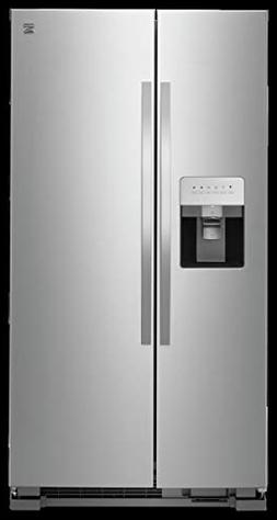 Kenmore 50043 25 cu. ft. Side-by-Side Refrigerator with Wate
