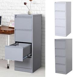 "52""H 4 Drawer Freestanding Vertical Home Office File Cabinet"