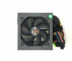 550W Large Single Fan w/ Grill ATX Power Supply Unit Quiet C