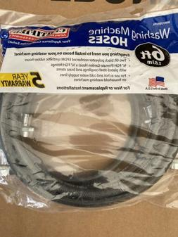 6 Ft Washer Hoses. Carried Appliance Accessories.