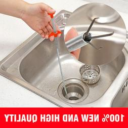 60cm Kitchen Sewer Dredging Device Tools Spring Pipe Sink Cl
