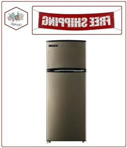 7 5 cu ft top freezer refrigerator