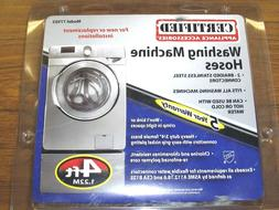 CERTIFIED APPLIANCE 77503 4' Braided Stainless Steel Washing