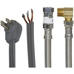 77805 braided stainless steel dishwasher install kit