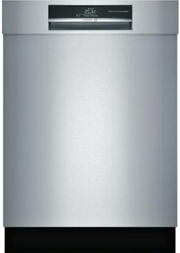 "Bosch 800 Series SHEM78WH5N 24"" Stainless Semi Integrated Di"